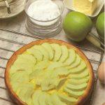 Tarte aux pommes au calvados