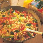 Vermicelles sautés au curry