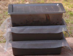 Bacs pour lombri-compostage
