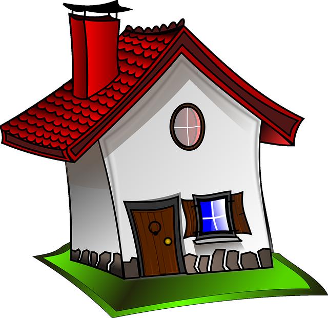 Un dessin de maison